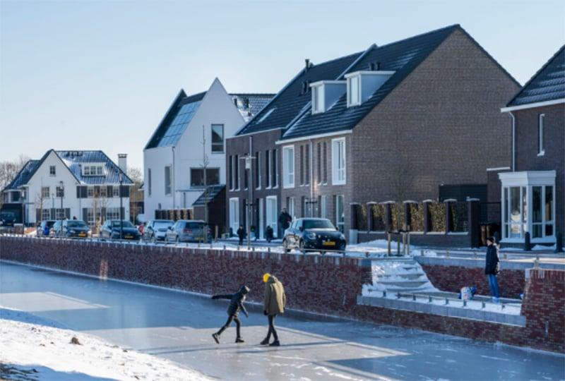 Schaatsfoto Hoef en Haag